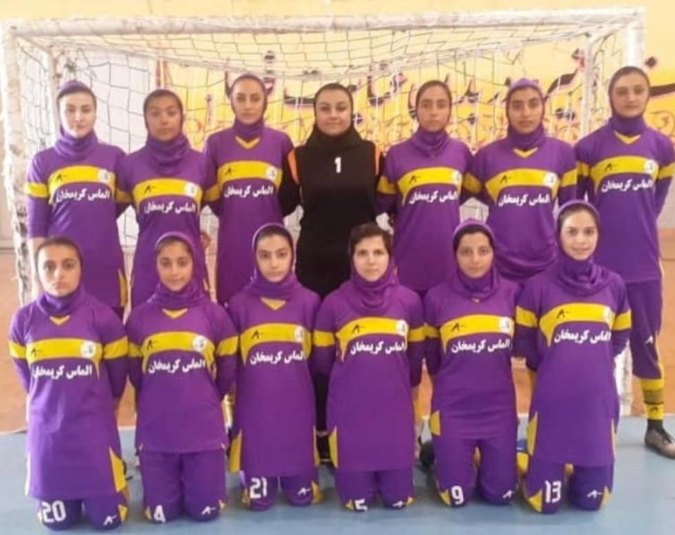 اسپانسرینگ در مسابقات لیگ برتر جوانان کشور فوتسال دختران